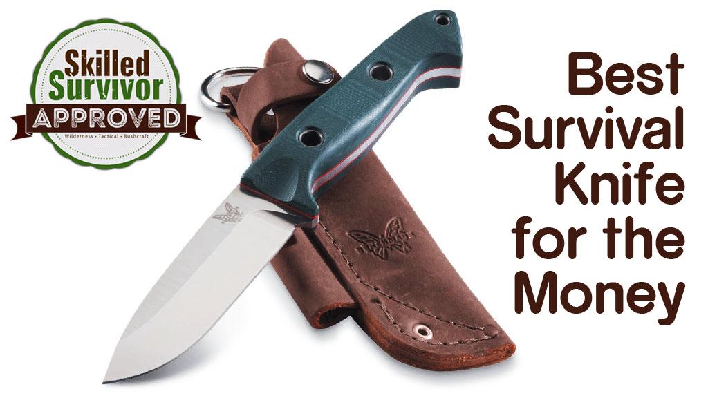 Best Survival Knife for the Money